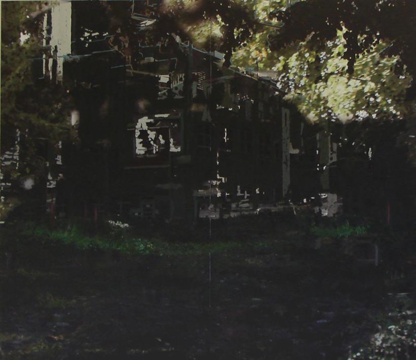 n.t 210x230 cm acrylics, enamel, sand on canvas on woodpanel